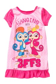 AME Fingerlings BFF Nightgown (Little Girls & Big