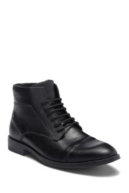 Steve Madden Radon Cap Toe Leather Boot