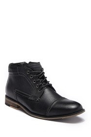 Steve Madden Kaplan Lace-Up Leather Boot