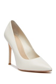 Pour La Victoire Celeste Pointed Toe Leather Pump