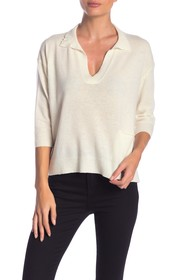 Inhabit Cashmere Painters Top