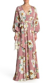 Meghan LA Wrap Maxi Dress