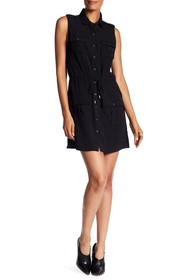 Haute Hippie Snap Button Pocket Dress