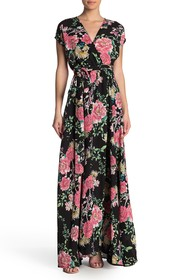 Meghan LA Surplice Maxi Dress