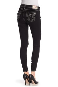 True Religion Solid Super Skinny Jeans