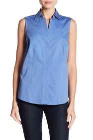 FOXCROFT Taylor Sleeveless Blouse