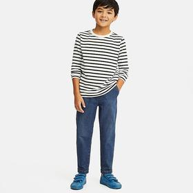 BOYS ULTRA STRETCH DENIM TAPERED ANKLE PANTS