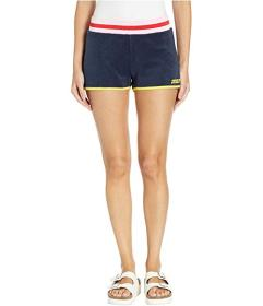 Juicy Couture Juicy Logo Microterry Shorts