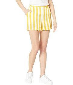 Juicy Couture Awning Stripe Satin Shorts