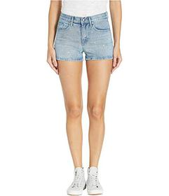 Juicy Couture Crystal Denim Shorts