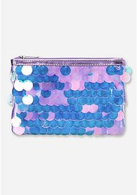 Justice Jumbo Sequin Cosmetic Bag