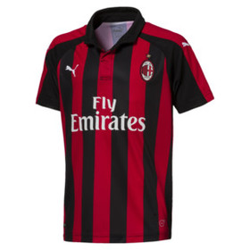 Puma AC Milan Kids' Home Replica Jersey