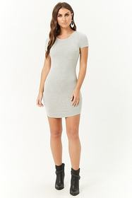 Forever21 Strappy-Back T-Shirt Dress