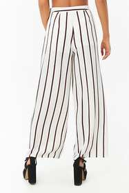 Forever21 Wide-Leg Striped Pants