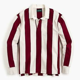 J. Crew 1984 rugby shirt in Charles vertical strip