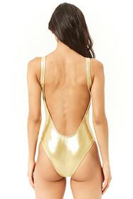 Forever21 Dreamgirl Graphic One-Piece Swimsuit