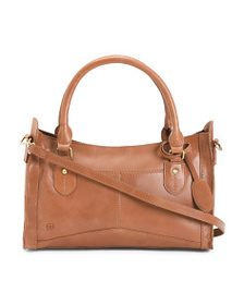 BORN Leather Eva Satchel