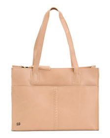 BORN Scottsville Distressed Leather Tote