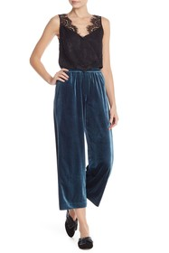 French Connection Velvet Pajama Pants