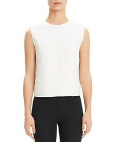 Theory - Cropped Sleeveless Top