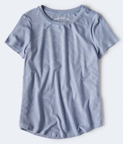 Aeropostale Seriously Soft Ribbed Crew Tee