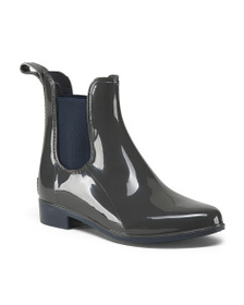 LIFESTRIDE Twin Gore Ankle Rain Booties