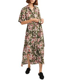 FRENCH CONNECTION - Floriana Floral-Print Maxi Dre