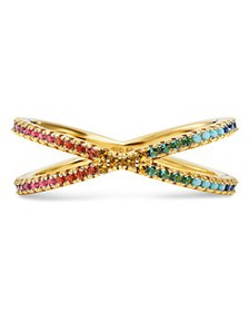 Michael Kors - Pavé Rainbow Nesting Ring in 14K Go