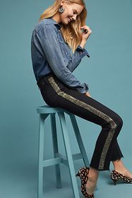 Anthropologie MOTHER The Rascal High-Rise Skinny A