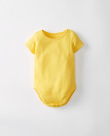 Hanna Andersson Bright Baby Basics One Piece In Or