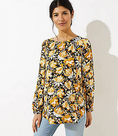 Maternity Bloom Shirttail Blouse