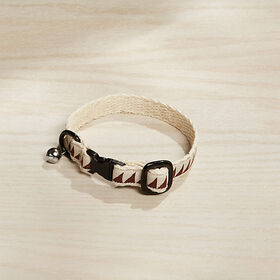 Crate Barrel Nice Grill Caramel Brown Cat Collar