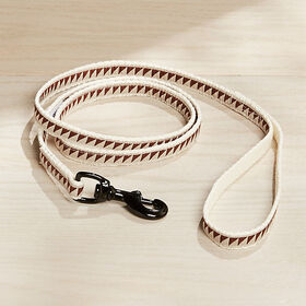 "Crate Barrel Nice Grill 1/2"" Caramel Brown Leash"