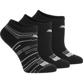 Puma Women's Superlite No Show Socks [3 Pack]