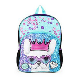 dELiAs Girl Laptop Backpack Sunglass Frenchie