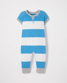 Hanna Andersson Sueded Jersey Stripe Romper