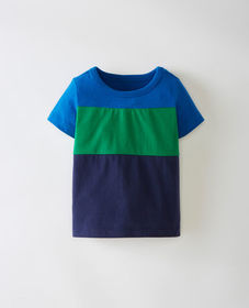 Hanna Andersson Sueded Jersey Colorblock Tee