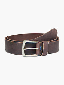 Lucky Brand Basic Top Detail Leather Belt