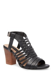 Steven By Steve Madden Frannie Block Heel Leather