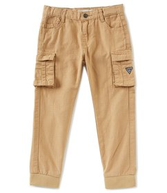 Guess Little Boys 2T-7 Twill Cargo Joggers