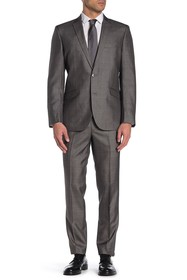 Kenneth Cole Reaction Subtle Houndstooth Two Butto