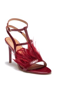 Halston Heritage Tasha In Mote Carlo Feather Sanda