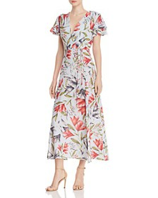 FRENCH CONNECTION - Cadencia Cari Floral Maxi Dres