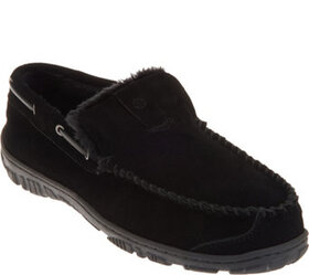 Clarks Suede Men's Venician Moccasin Slippers - A3