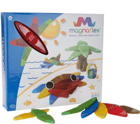 Magnaflex 22-piece Magnetic Construction Set - T35