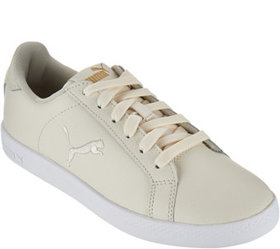 PUMA Leather Lace-up Sneakers - Smash Cat - A29197