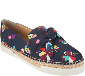 """As Is"" Vince Camuto Canvas Slip On Espadrilles -"