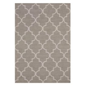 Radcliffe Hand-Tufted Wool Light Gray Area Rug