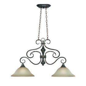 Wiliams 2-Light Shaded Chandelier