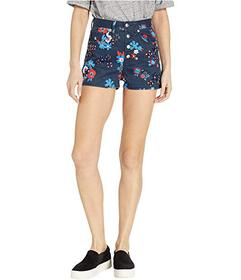Juicy Couture Hayworth Floral Embellished Denim Sh